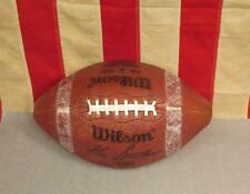 Vintage Wilson Leather Ken Stabler Football w/ Laces Model F1395 Oakland Raiders