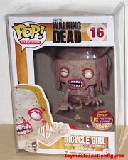 FUNKO POP The WALKING DEAD SDCC PX EXC BLOODY BICYCLE GIRL #16 1000 pcs IN HAND