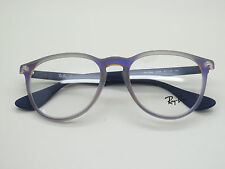 a6b33f902cbf NEW Authentic Ray Ban RB 7046 5486 Matte Grey Purple 51mm RX Eyeglasses