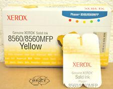 1 Stick Original XEROX Solid Ink Phaser 8560 8560mfp Yellow 108R00725 Genuine