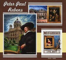 Mozambique 2015 MNH Peter Paul Rubens 1v S/S Paintings Virgin Adoration Child