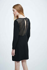 Sessun Anderson Sheer Back Dress In Black - Sold at Liberty's - Size M