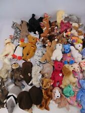 Large Bundle TY BEANIE BABIES Stuffed Toys Over 130 in Total Bears Animals - C34