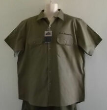 Classic Short Sleeve Button-Front Casual Shirts for Men