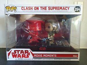 Star Wars Movie Moments The Last Jedi Clash On The Supremacy Funko Pop #264 Rey