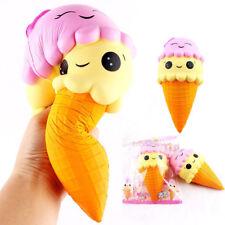 23cm Groß Squishy Eistüte Ice Cream Jumbo Slow Rising Squeeze Spielzeug Fun Toy