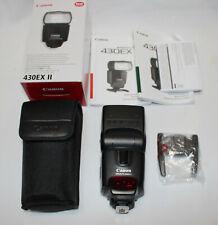 Canon Speedlite 430EX II digital Shoe Mount Flash