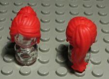 Lego Figur Zubehör Haar Dunkelocker für Frau 1337 #