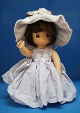 "Precious Moments 12"" Vinyl Doll Signed 4313  Lovely in Lavender"