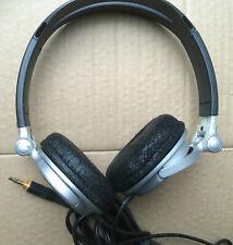 Sony MDR-V300 Metallic Silver Neodymium Magnet Headband Headset headphones