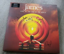 James LP SIGNED Girl At The End Of The World