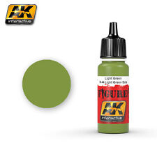 AK INTERACTIVE FIGURE ACRYLICS LIGHT GREENM-44 L. GREEN DOTS 17ML. Cod.AK3024