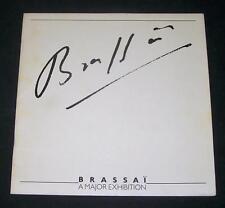 1979 Brassai Major Exhibition Catalog CATS Montmarte PARIS FOG Steps GIRLS Chefs