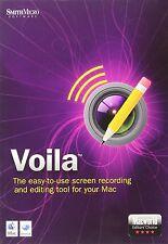 NEW SmithMicro Voila Screen Record &  Edit, Editors' Choice: Mac World, VLAMBX2