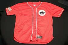 Jersey Express Red Buffalo Bisons Jersey