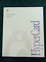 Sealed 1990 Apple Computer Macintosh Mac HyperCard Basics User Manual Guide Vtg