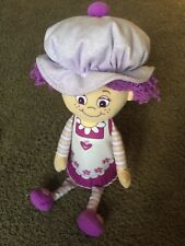 Little Miss Muffin Plush Stuffed Doll Toy Purple Large