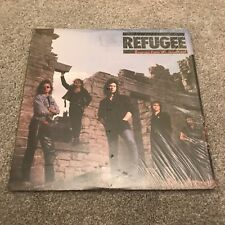 "Refugee 'Burning from the inside out' AOR Rock Heavy Metal 12"" vinyl LP 1987"