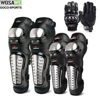Motorcycle Knee Elbow Pads Joint Support Motocross Racing Gloves Protective Gear