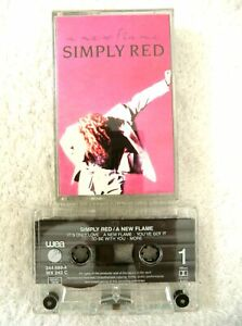 16993 Simply Red - A New Flame Cassette Album 1989