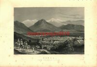 Cabul (Kabul) Afganistan, General View, Book Illustration (Print), c1890