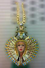 Da NeeNa H1233A Drag Pharaoh  Crystal Egypt Cleopatra Cabaret Showgirl Headdress