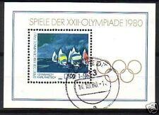 DDR Block  60  gest.  Olympische Spiele 1980