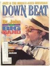DOWN BEAT MAGAZINE DR JOHN RAY BROWN MALACHI THOMPSON RAY BROWN PAT MARTINO RARE
