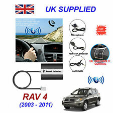 RAV4 Bluetooth Hands Free Phone AUX Input MP3 USB 1.0A Charger Module 03-11