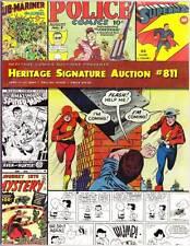 HERITAGE COMICS AUCTION CATALOG #811 June 2004 - Alex Raymond, Carmine Infantino