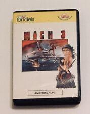 Mach 3 AMSTRAD CPC Loriciels 1987 Proein CASS 22346