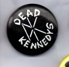 DEAD KENNEDYS BUTTON BADGE - AMERICAN  HARCORE PUNK BAND - 25mm pin