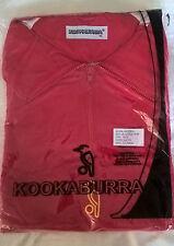 Kookaburra Training Jacket  Mens XL  Red 1/4 Zip