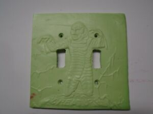 Creature from the black lagoon dual switch plate . FREE SHIPPING.
