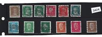 Stamp set / 1926-1930 / Famous German citizens / Presidents Ebert & Hindenburg