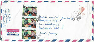 1972 CHINA PRC AIRMAIL COVER SENT TO GERMANY