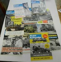 Complete Year 1962 Model Railroader Magazine / Very Good Condition HO & O Gauge