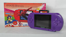 PURPLE PXP 3 16 BIT 1GB FAST VIDEO GAME CONSOLE HANDHELD 200+ GAMES XMAS GIFT
