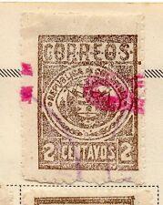 Colombia 1901 antiguo problema Fine Used 2c. 172727