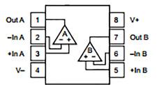 3 x OPA2134PA OPA2134 amplificatore operazionale integrato integrated circuit