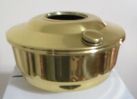 Aladdin Regency Solid Brass Hanging Kerosene Oil Lamp Font Bowl alladin N200B