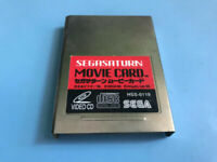 Sega Saturn Video CD Card HSS-0119 VCD MPEG Movie Adapter Player Operator