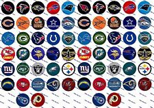 "64 Precut 1"" TEAMS Bottle cap Images Set A"