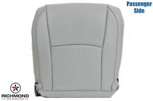 For 2005-2009 Lexus RX350 RX330 RX400h -Passenger Bottom Leather Seat Cover Gray