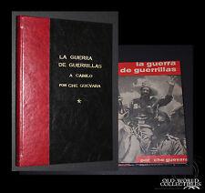 """1961 1st Ed """"LA GUERRA DE GUERRILLAS A Camilo""""  Ernesto Che Guevara  MINFAR Cuba"""