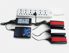 3 in 1 Quick Battery Charger Bateria Cargador for Parrot Bebop 2