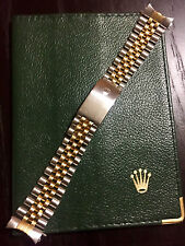 AUTHENTIC ROLEX 62510H N6 S/S SOLID GOLD 18K JUBILEE BRACELET 20MM FIT GMT 1989