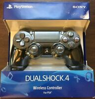 Official Sony PlayStation 4 PS4 Dualshock  Wireless Controller Jet Black New