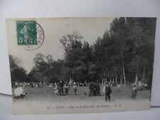 CPA ville de LYON - Parc de la tête d'or - La pelouse