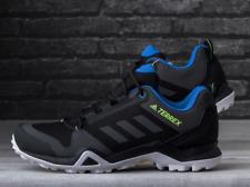 Adidas Mens Terrex AX3 Hiking Walking Shoes Black/Grey/Blue EF3314 UK 9, 11